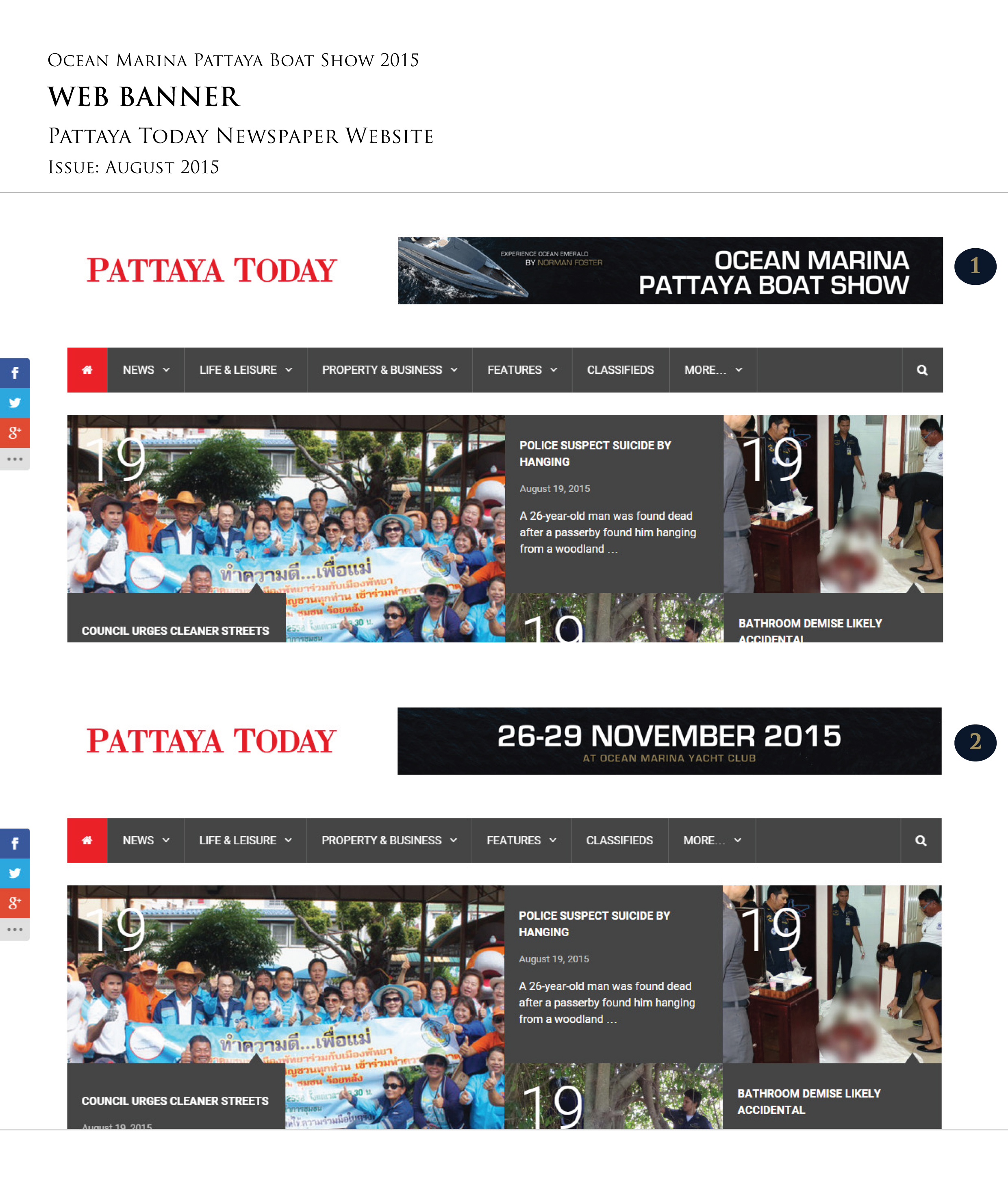 pattaya weather in november